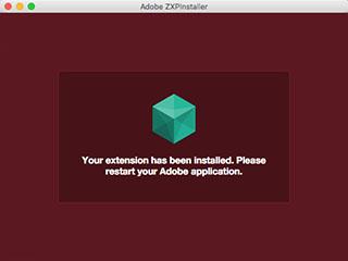 ZXPinstallerを使う
