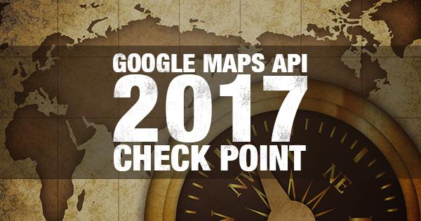 2017年版GoogleMapsAPI使用に関するチェックポイント
